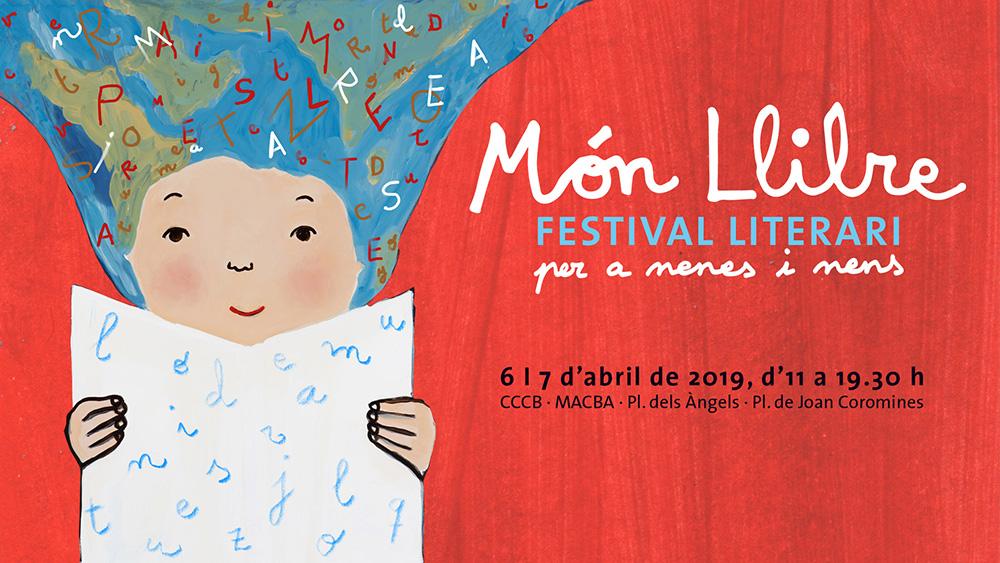 MÓN LLIBRE 2019 – Festival literari per a nenes i nens (BARCELONA)